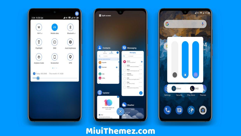 Android Q V10 MIUI 10 Theme