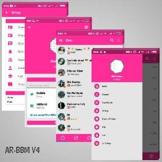 Download BBM MOD AR-BBM v4 (Base 3.2.0.6) APK Terbaru