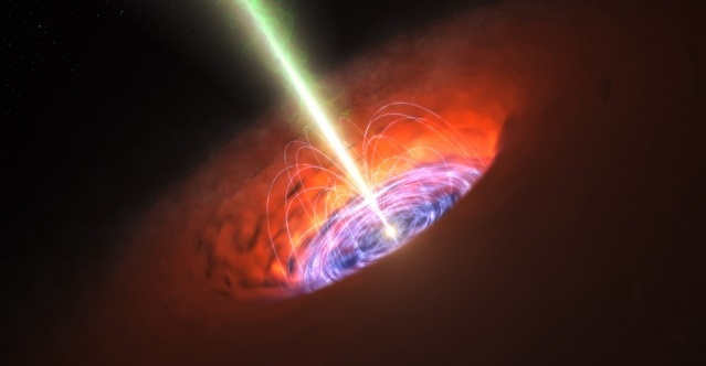 scientists detect radio echoes of a black hole feeding on a star