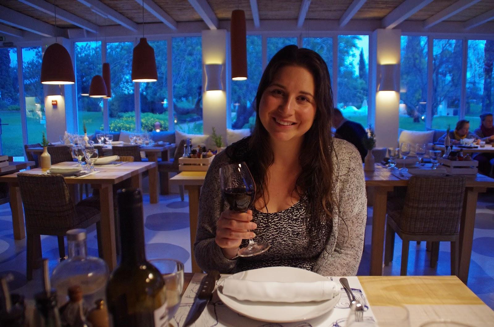 Simone at À Terra Restaurant Vila Monte Portugal