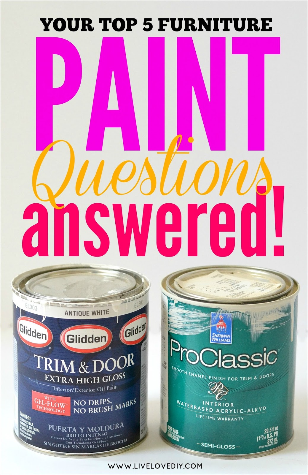 Your Top 5 Furniture Paint Faqs Answered Hey