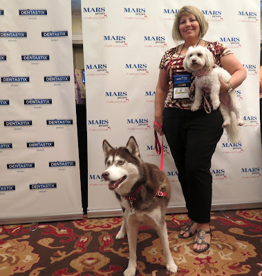 At the BlogPaws2015 pet blogger's conference in Nashville