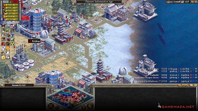 Rise of Nations Gameplay Screenshot 2