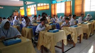 USBN Di SMPN 3 Cirebon Sudah Mandiri