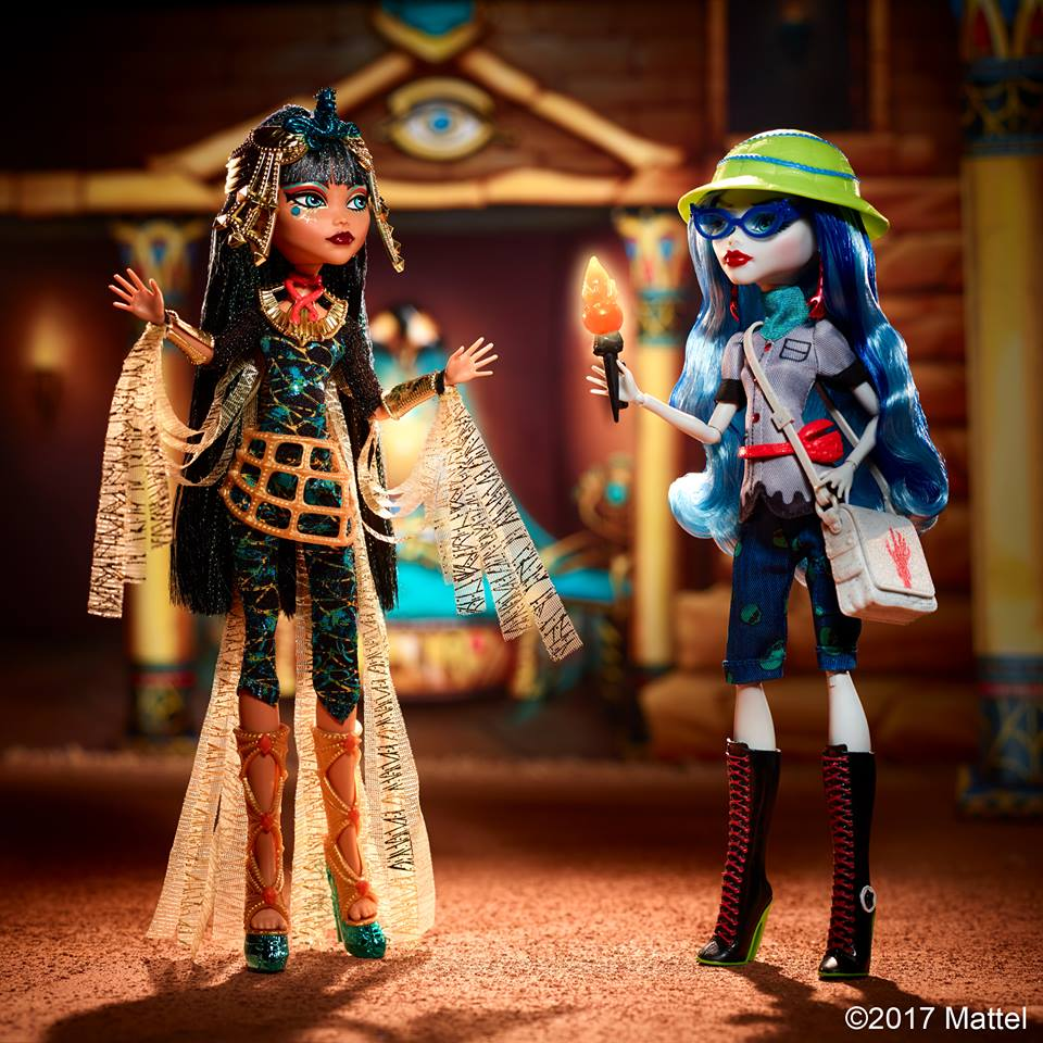 Monster High Reveals Cleo De Nile and Ghoulia Yelps 2Pack