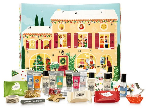 Le Couvent des Minimes beauty Advent calendar 2016 calendrier de l'avent Adventskalender