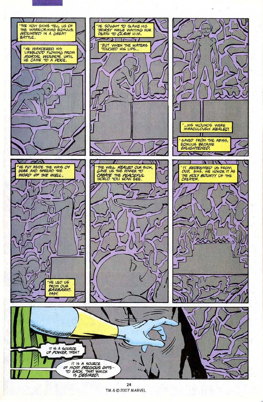 Read online Silver Surfer (1987) comic -  Issue #72 - 26