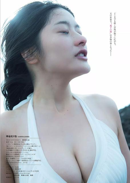 神谷えりな Kamiya Erina X 富士山 Mt Fuji