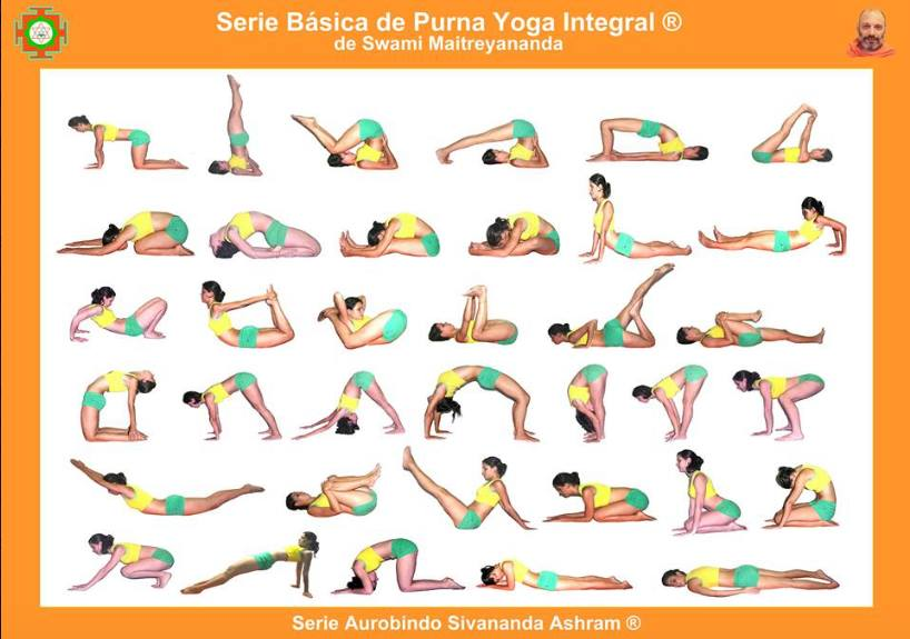 8 Los Kramas O Series Del Purna Yoga Integral