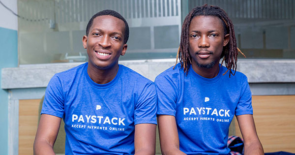 Shola Akinlade and Ezra Olubi, founders of Paystack