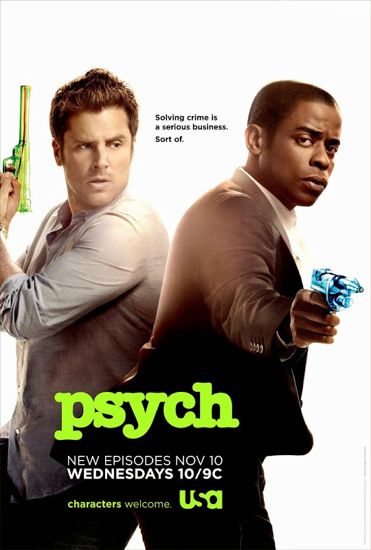 Psych TV poster