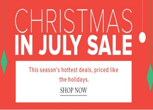 Hudson's Bay Christmas In July Sale Up To 50% Off