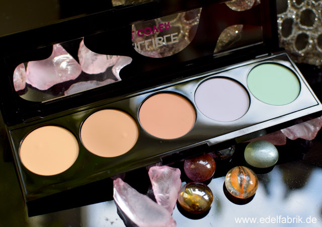 L'Oréal Infaillible Total Cover Make-Up und Concealer Palette, Test, Review
