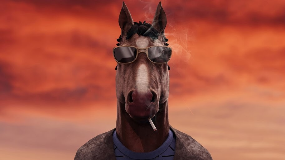 BoJack Horseman, Smoking, 4K, #7.1226 Wallpaper