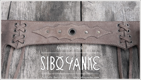 LeatherUtilityBelt - FestivalBelt - Leather Accessories - RiñoneraDeCuero - Fashion accessories - Gemstones