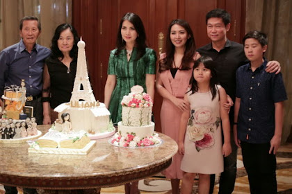 Hangatnya Keluarga di Ulang Tahun Liliana Tanoesoedibjo