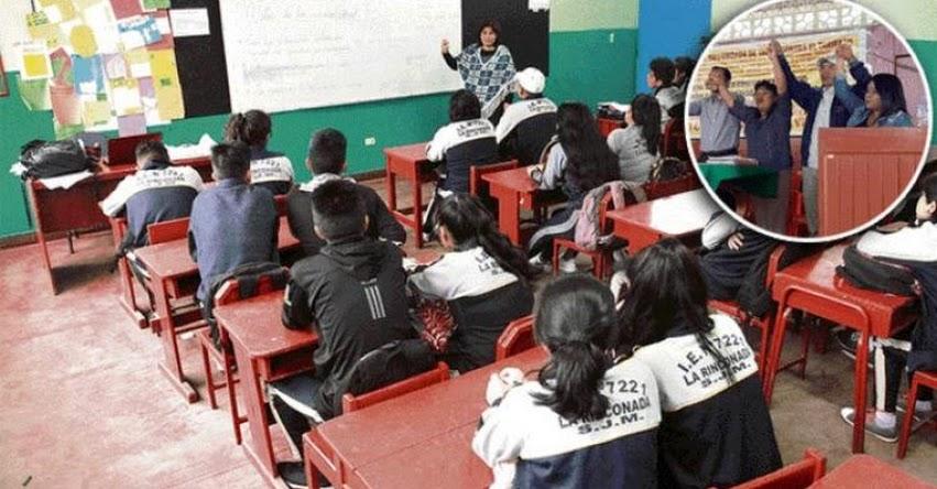 DRE Tacna suspende labores escolares por paro contra el alza de tarifa de agua