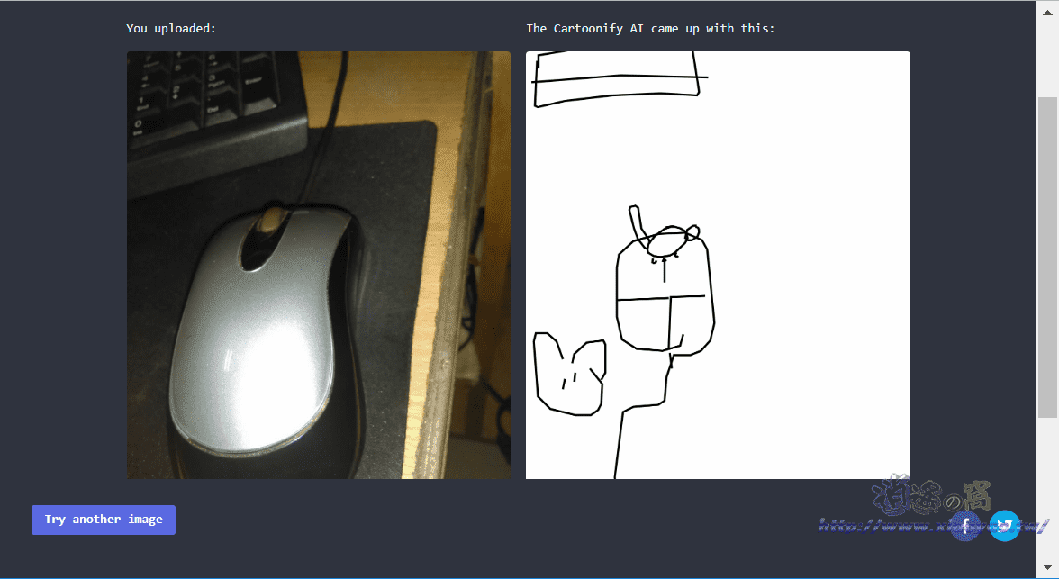 Cartoonify 將照片變成手繪塗鴉畫