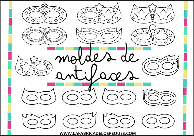 Moldes antifaces