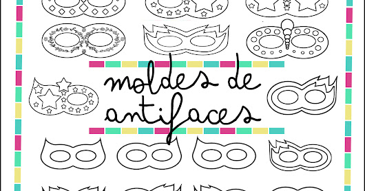 Moldes de antifaces