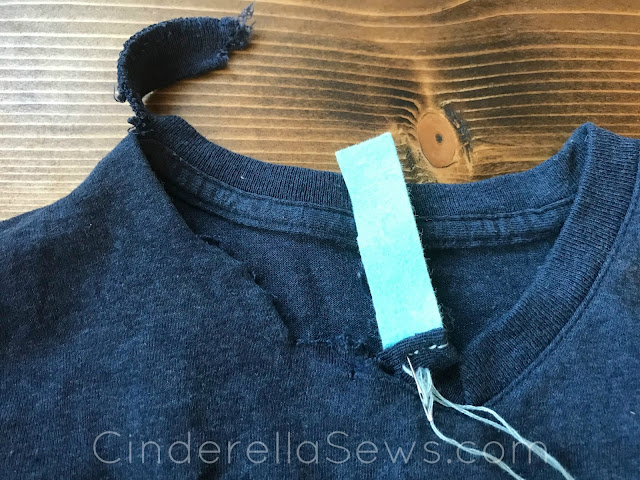 Fixing clothes doesn't have to be difficult or hidden! Click the link for 5 easy ways to add style and fun to holes in shirts, frayed collars, or rips in pants! A great Earth Day project and easy sewing lesson for kids. #earthday #mending #mendingmatters #visiblemending #sewing #childrensclothes #upcycle