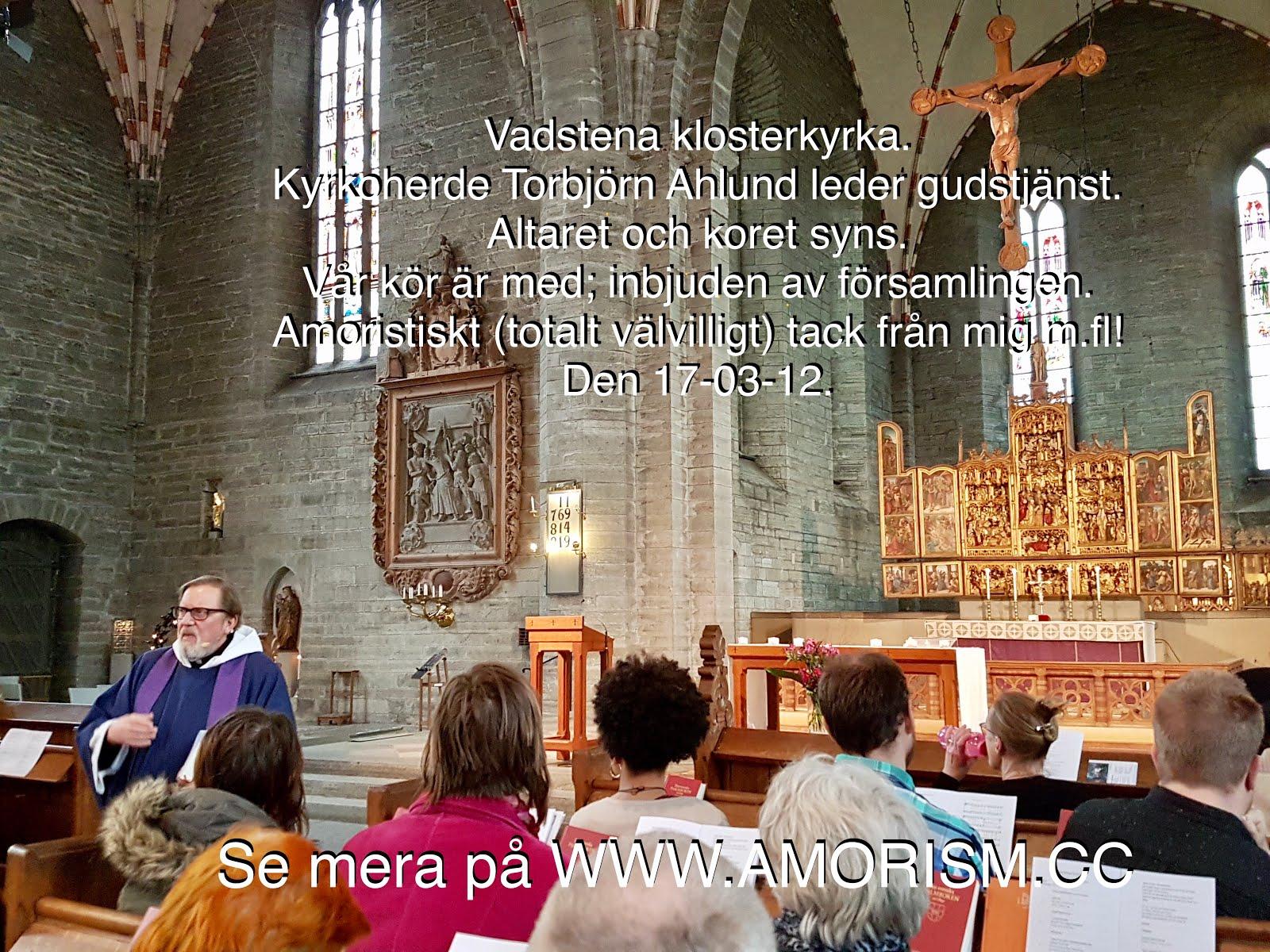 Bild på Gatans röster Gudstjänst i Vadstena klosterkyrka jpg