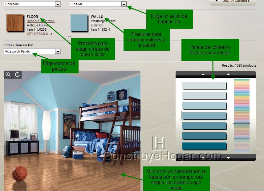 Aplicacion Para Decorar Habitacion Online
