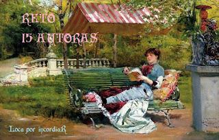 http://mislecturasymascositas.blogspot.com.es/2018/01/reto-15-autoras.html