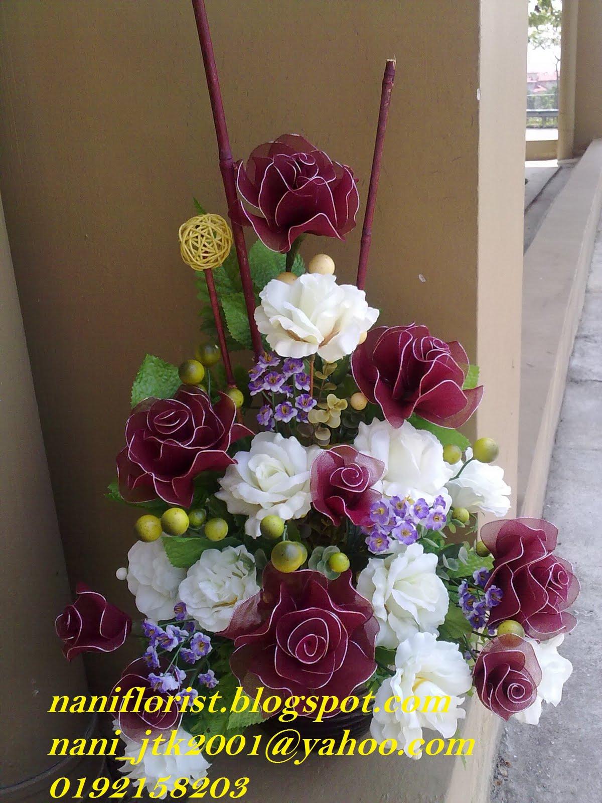 Gubahan Bunga Sudut Ruang Tamu Desainrumahid