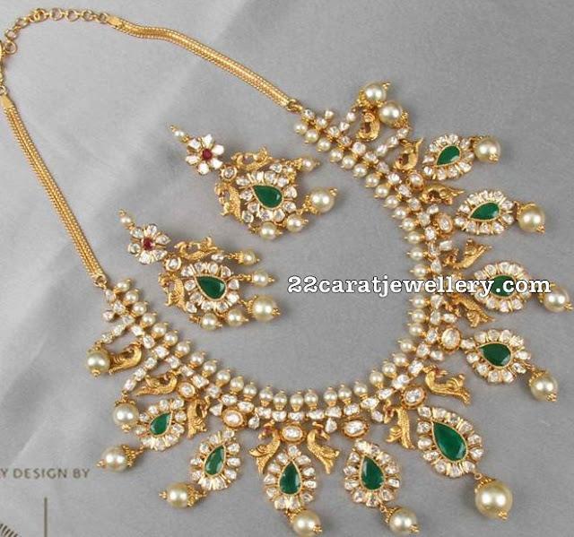 Pachi Necklace Chandbalis