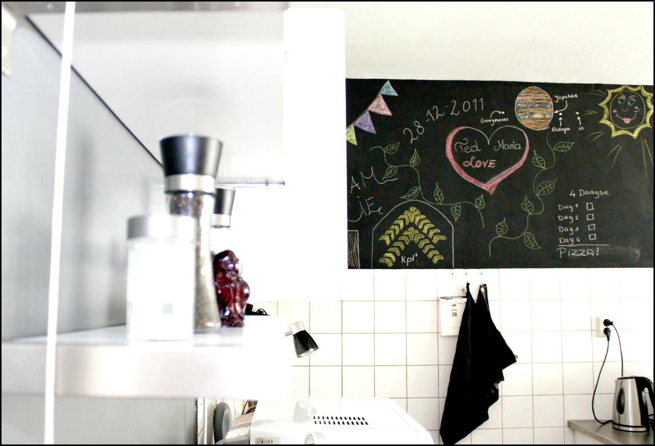 ściana kredowa kuchnia