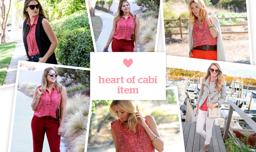 heart of cabi piece, heart of cabi item, cabi clothing bloggers, blogger features