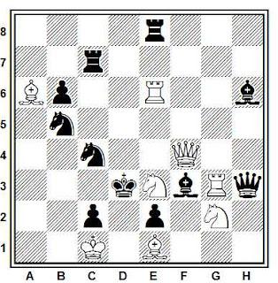 Problema ejercicio de ajedrez número 855: Mate en 2 de Francisco Novejarque (SEPA, 1946)