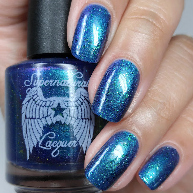 Supernatural Lacquer -  Cosmic Peacock