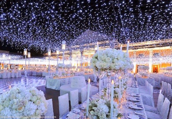 wedding outdoor lighting