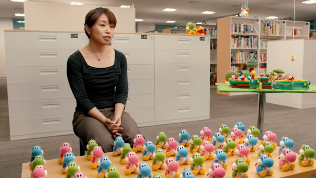 Emi Watanabe Nintendo Yoshi's Woolly World Yarn