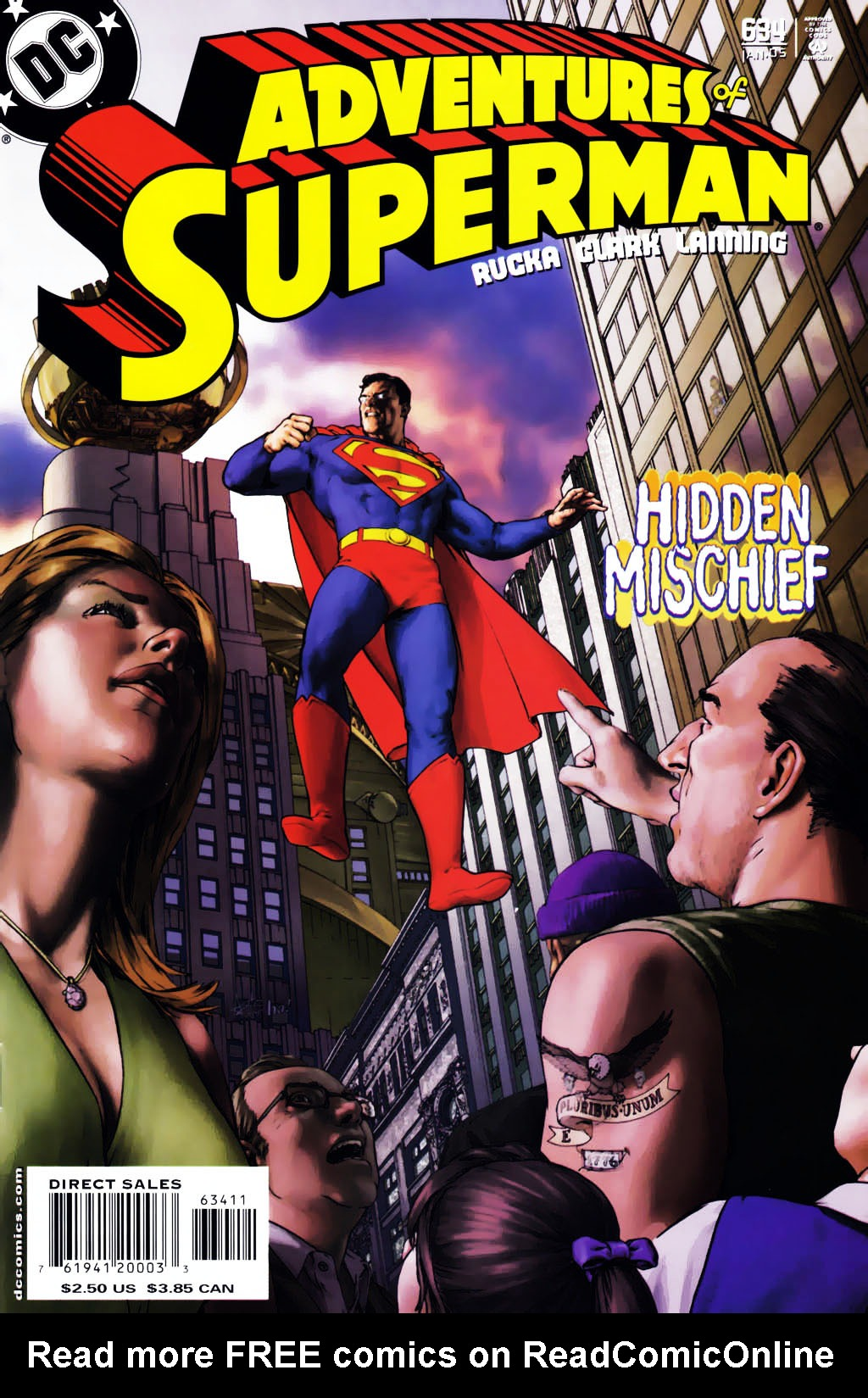 Read online Adventures of Superman (1987) comic -  Issue #634 - 1