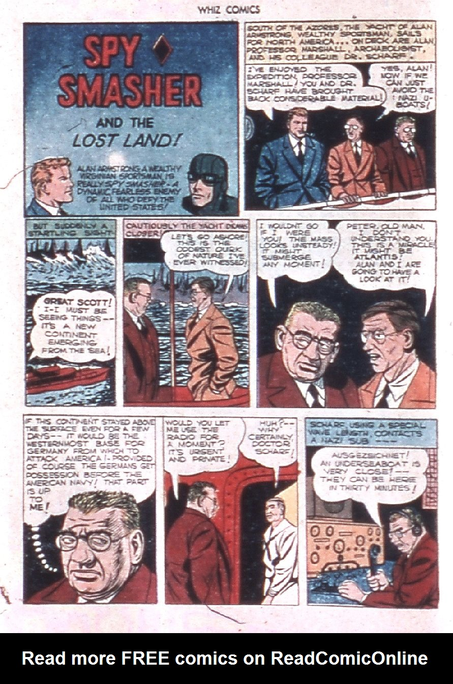 WHIZ Comics issue 60 - Page 22