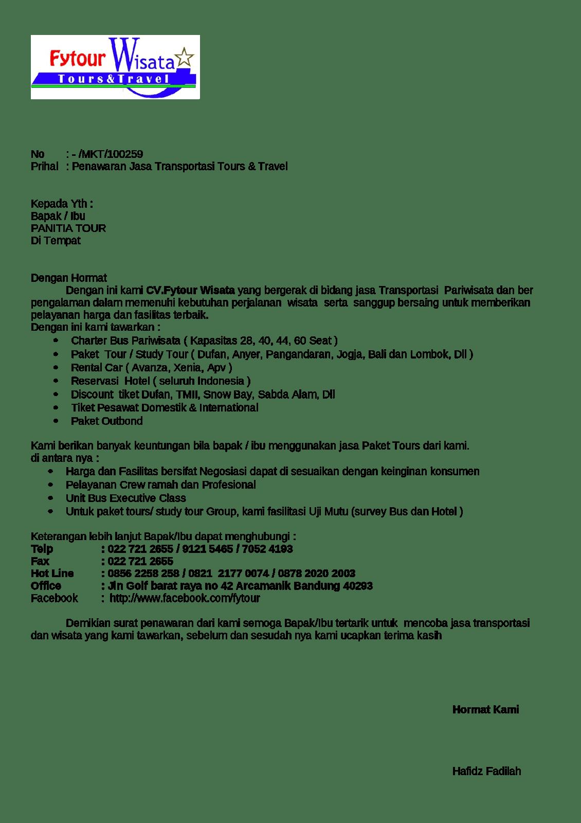 contoh surat penawaranjasa