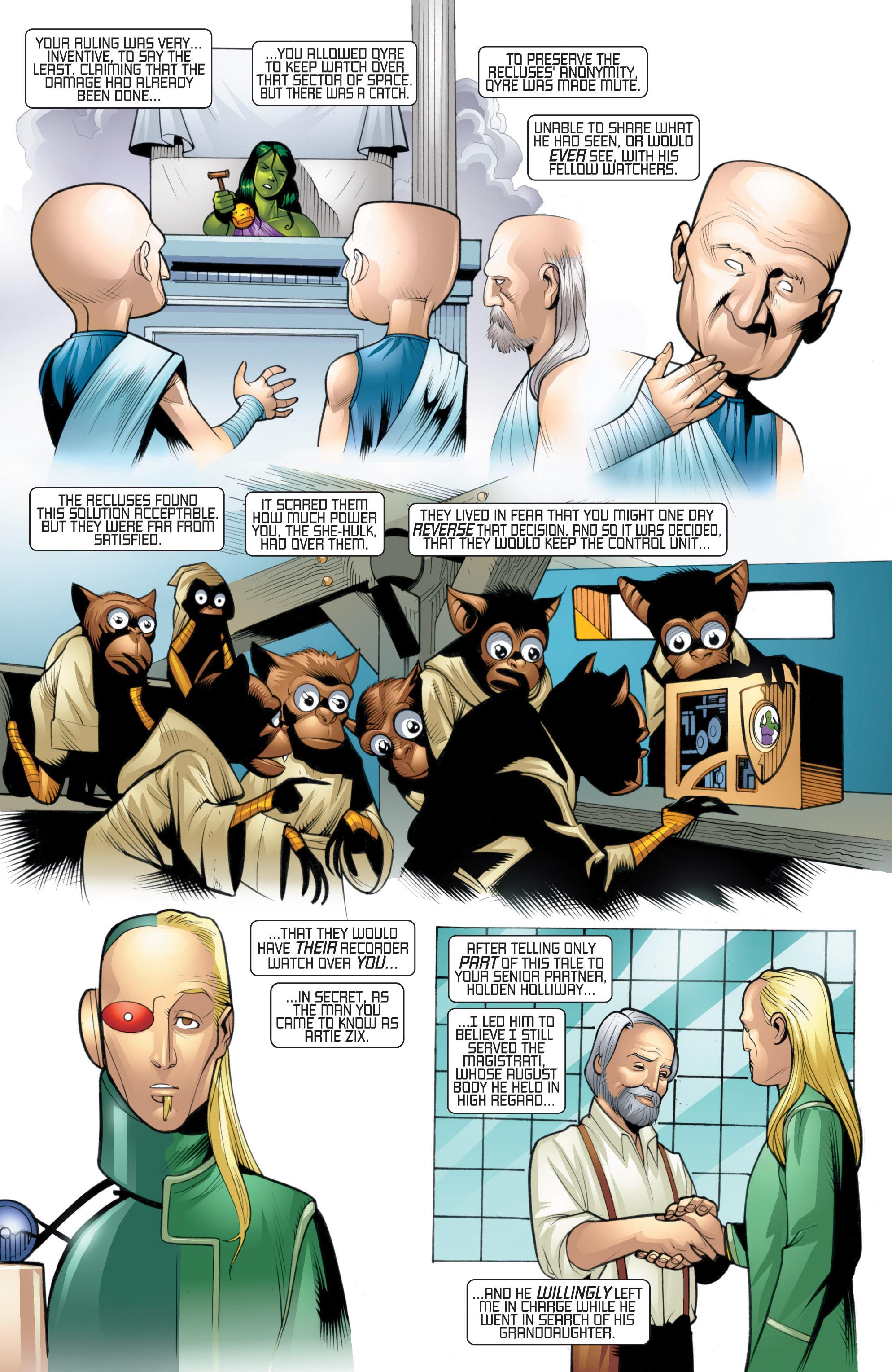 Read online She-Hulk (2005) comic -  Issue #20 - 11