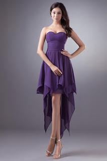 Vestidos Color Purpura, Toda Ocación
