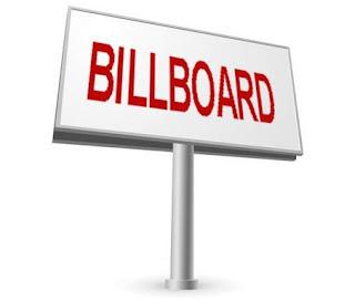 Pengertian Stiker, Plakat, Spanduk, Baliho, Billboard, brosur dan Banner
