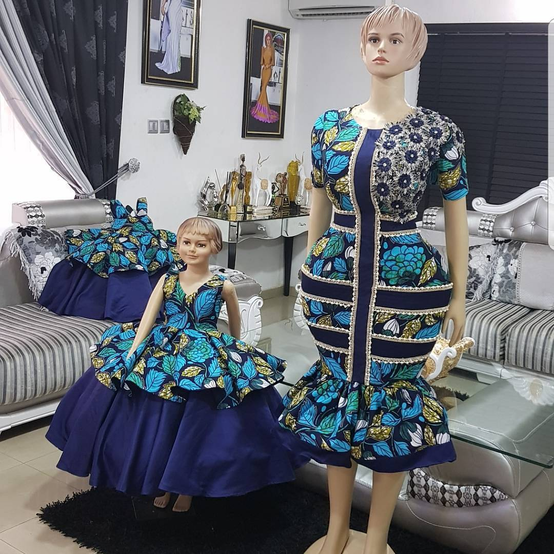 Latest fashion ankara style 2018 african modern gowns tops and ankara dresses ombrellifo Images
