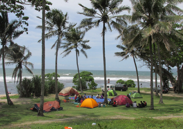Gambar Pantai Karapyak Pangandaran