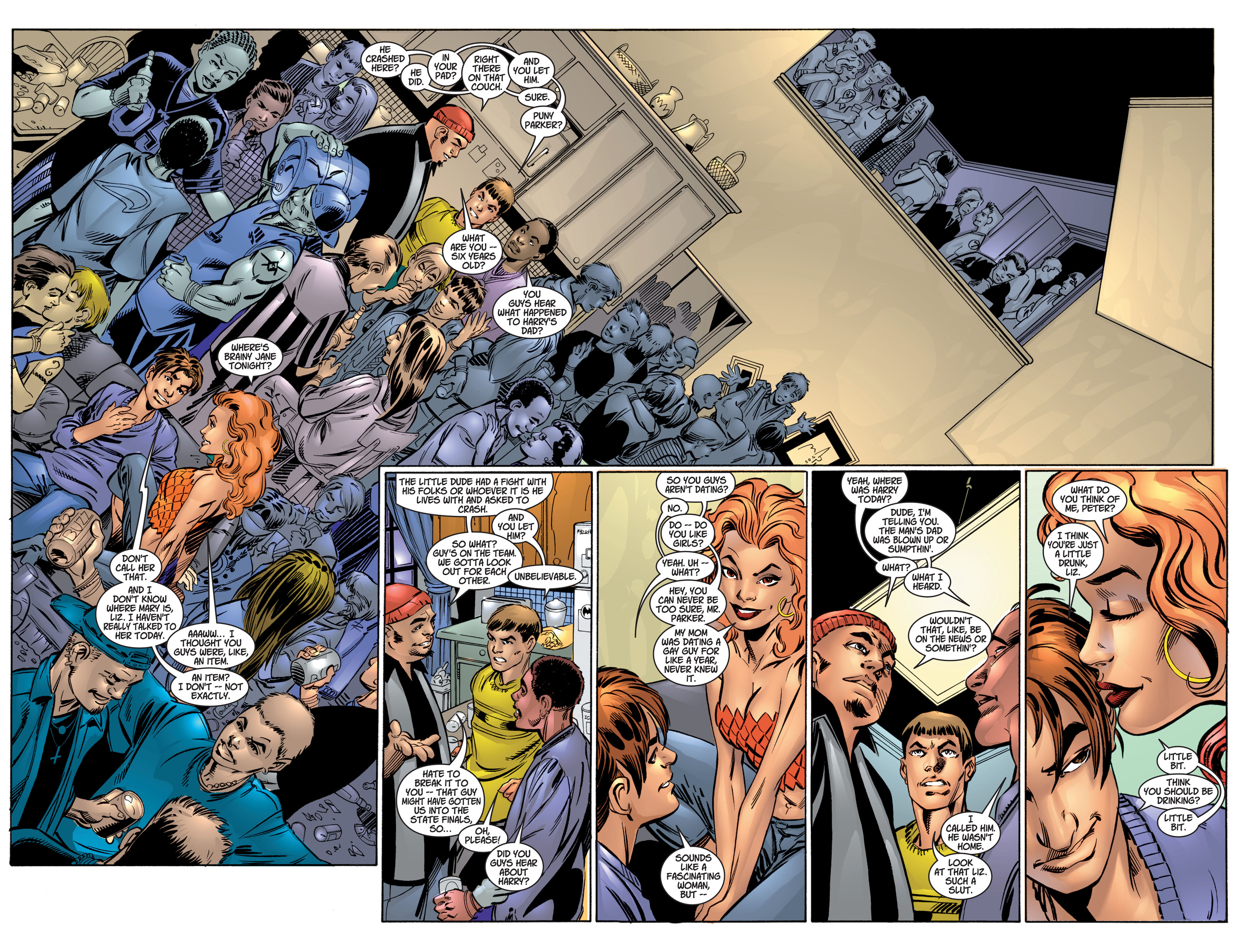 Read online Ultimate Spider-Man (2000) comic -  Issue #4 - 15