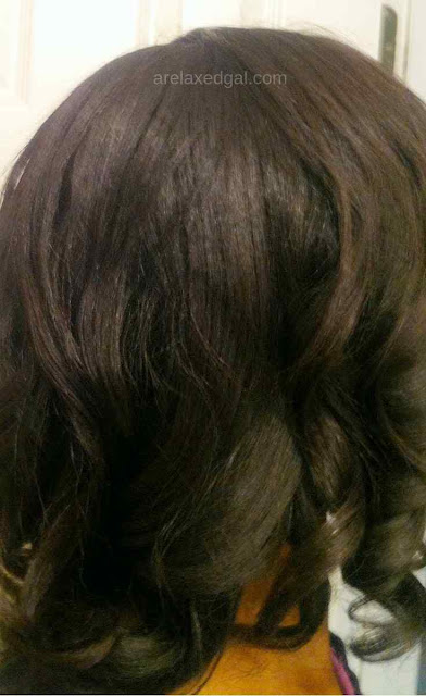 Relaxer Touch Up Prep And Results At 8 Weeks Post | A Relaxed Gal