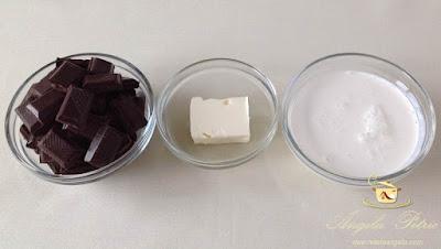Glazura de ciocolata - etapa 1