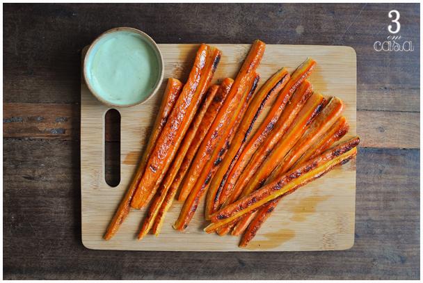receita cenoura forno