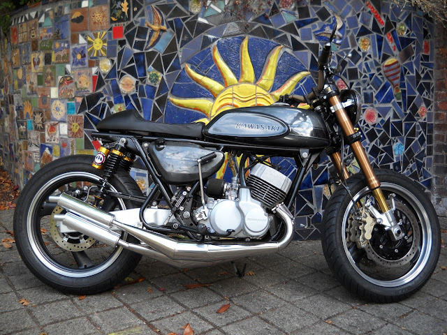 Kawasaki H1 By Vallantine Motor Works Hell Kustom