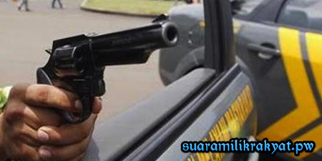 Pencuri Komponen Alat Berat Di Rokan Hulu Ditembak Polisi